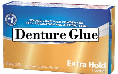 When Denture Glue is Poisonous to Your Body
